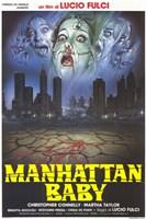 Manhattan Baby Wall Poster