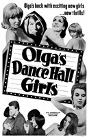 "Olga's Dance Hall Girls - 11"" x 17"""