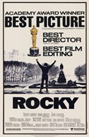 Rocky Best Picture Framed Print