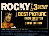 Rocky Horizontal Wall Poster