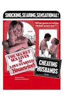 "Secret Sex Lives of Love Starved Housewi - 11"" x 17"""