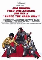 "Three the Hard Way Jim Brown - 11"" x 17"" - $15.49"
