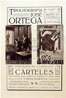 """Litografia Ortega - 11"""" x 17"""""""