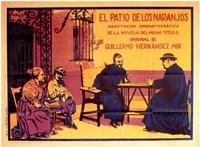 """El Patio De Los Naranjos - 17"""" x 11"""""""