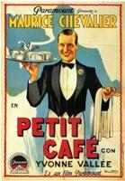 """Petit Caf - 11"""" x 17"""""""