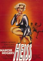 """Some Like it Hot - style A (German), 1959, 1959 - 11"""" x 17"""""""