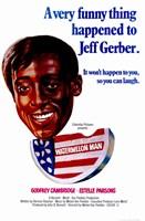 "Watermelon Man Jeff Gerber - 11"" x 17"""