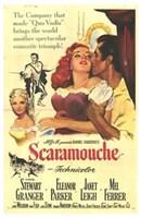 """Scaramouche Stewart Granger - 11"""" x 17"""""""