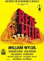 """Ben Hur Yellow - 11"""" x 17"""""""