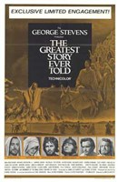 """The Greatest Story Ever Told (gold) - 11"""" x 17"""""""