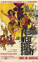 West Side Story (french) Fine Art Print