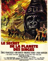 """Beneath the Planet of Apes - vintage - 11"""" x 17"""" - $15.49"""
