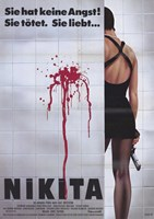 "La Femme Nikita - woman standing - 11"" x 17"""