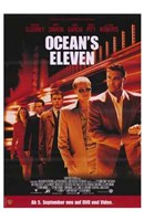 Ocean's Eleven - five people Fine Art Print