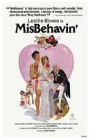 "Misbehavin - 11"" x 17"""