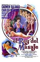 """King of Massage - 11"""" x 17"""""""