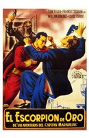"Adventures of Captain Marvel - Spanish - style B - 11"" x 17"""