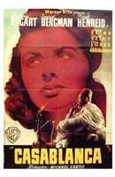 "Casablanca Close Up - 11"" x 17"""