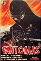 "Fantomas Movie - 11"" x 17"""