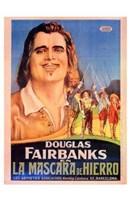 "The Three Musketeers - Douglas Fairbanks - 11"" x 17"""