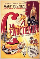 "Cinderella (spanish) yellow - 11"" x 17"""