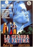 """La Senora De Fatima - 11"""" x 17"""""""