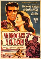 """Androcles and the Lion - 11"""" x 17"""""""