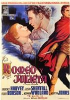 Romeo and Juliet (spanish) Wall Poster