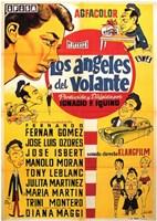 """Los Angeles Del Volante - 11"""" x 17"""""""