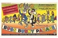 """Bugs Bunny Parade - 17"""" x 11"""", FulcrumGallery.com brand"""