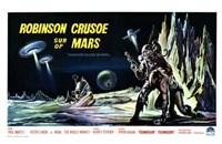"Robinson Crusoe on Mars - 17"" x 11"""