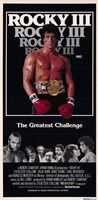 Rocky 3 The Greatest Challenge Wall Poster