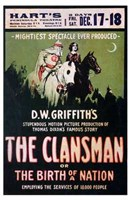 """The Birth of a Nation: The Clansman - 11"""" x 17"""""""