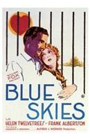 """Blue Skies - 11"""" x 17"""""""