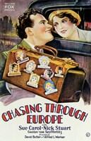 """Chasing Through Europe - 11"""" x 17"""""""