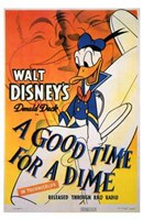 """A Good Time for a Dime - 11"""" x 17"""""""