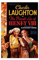 "Private Life of Henry VIII Charles Laughton - 11"" x 17"""