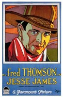 "Jesse James Fred Thomson - 11"" x 17"""