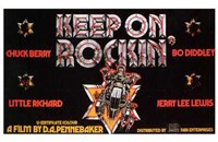 "Keep on Rockin' - 17"" x 11"""