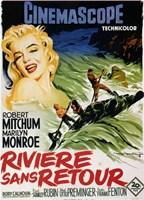 """River of No Return - Monroe - 11"""" x 17"""""""