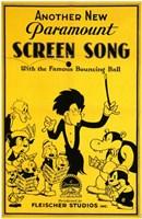 "Screen Song - 11"" x 17"""
