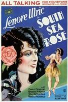 "South Sea Rose - 11"" x 17"""