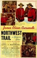 """Northwest Trail - 11"""" x 17"""""""
