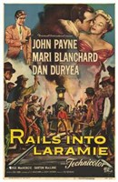 "Rails Into Laramie - 11"" x 17"""
