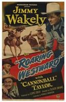 """Roaring Westward - 11"""" x 17"""""""
