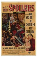 """The Spoilers - Anne baxter - 11"""" x 17"""""""