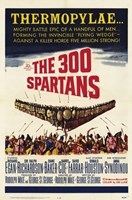 """The 300 Spartans - 11"""" x 17"""""""