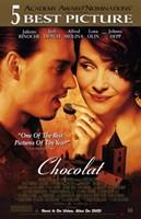 "Chocolat - couple eating chocolate - 11"" x 17"""