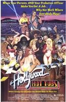 "Hollywood Hot Tubs, 1984, 1984 - 11"" x 17"""