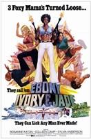 """Ebony Ivory and Jade - 11"""" x 17"""""""